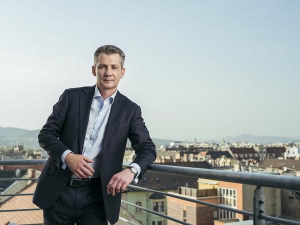 Árpád Török the CEO of TriGranit Corporation Török Árpád a TriGranit vezérigazgatója