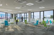 Millennium Gardens open office view